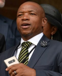 Supra Mahumapelo photo