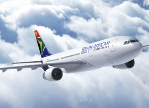 south african airways from Durban to Cape Town