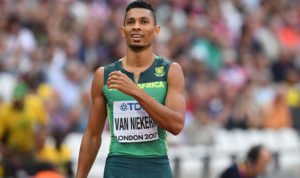 Wayde Van Niekerk photo