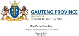 GDE Admissions